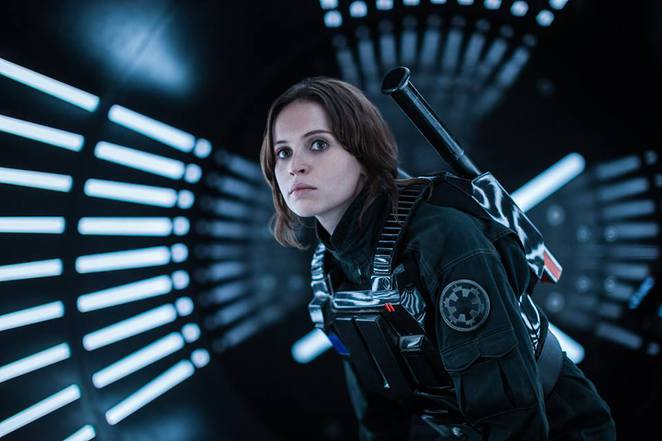 Jyn Erso in Rogue One: A Star Wars Story