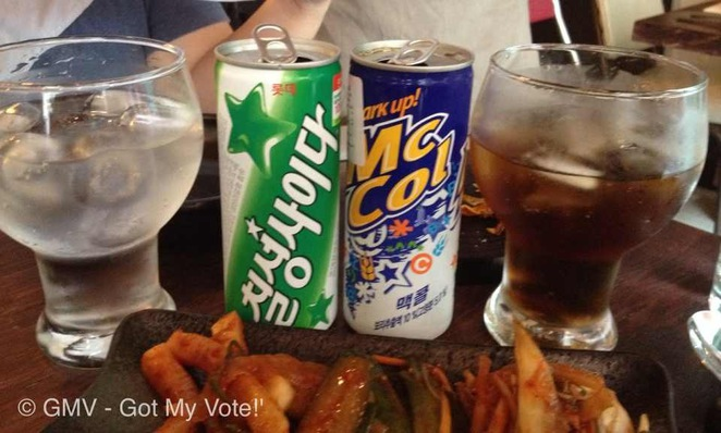 Korean, Cola,