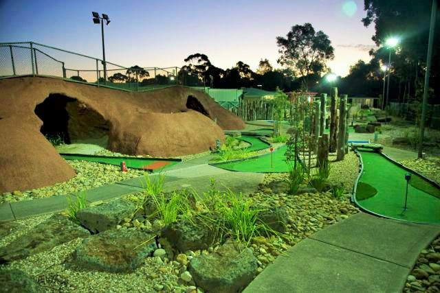 Latrobe Golf Park, mini golf, adventrue golf, crazy golf, mini golf in Melbourne, golf