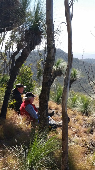 Lunch on Spicers Peak