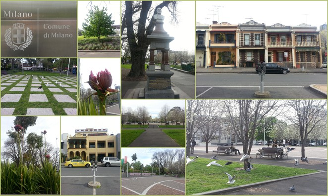 Glimpses of Argyle Square and surrounds