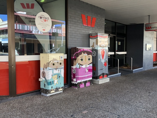 maryborough, street art, electricity boxes, art, mural, trail, things to see