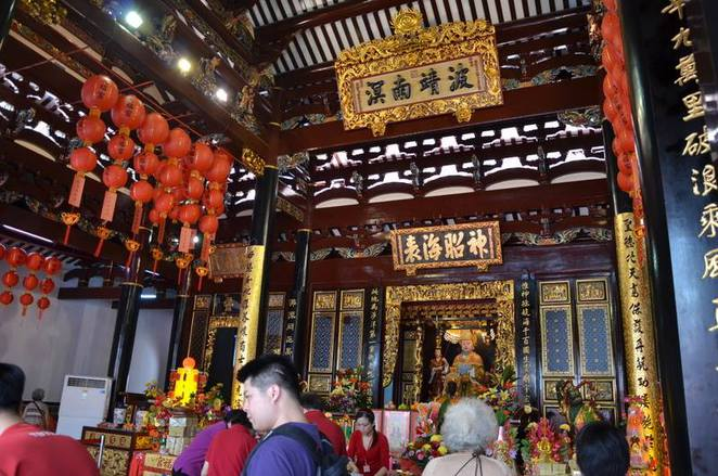 Mazu, Meizhou Island, Goddess of the sea, Sea goddess, chinese folklore, Chinese temple, Thian hock keng temple, Singapore hokkien temple, hokkien Singapore