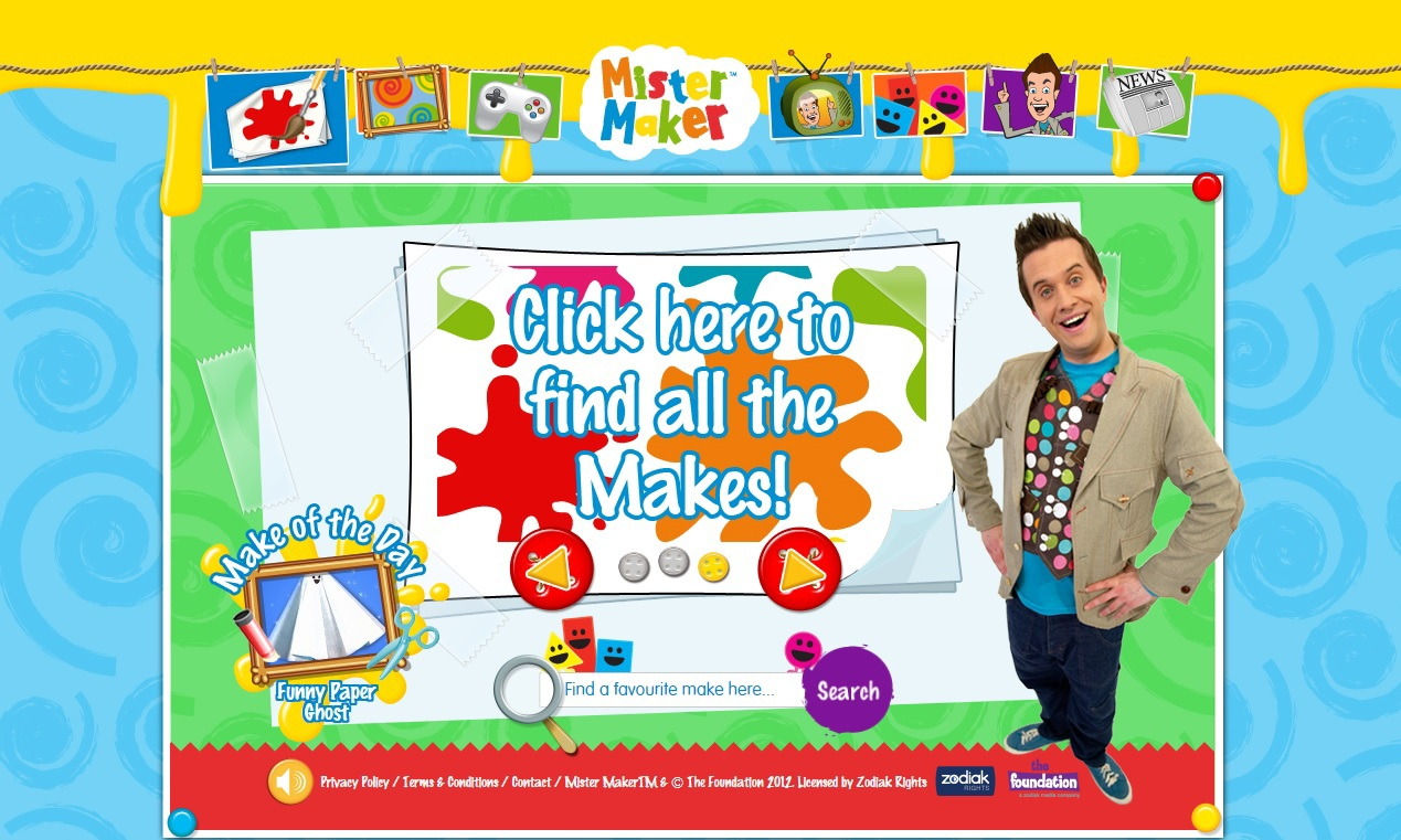 Mister Maker Art Ideas