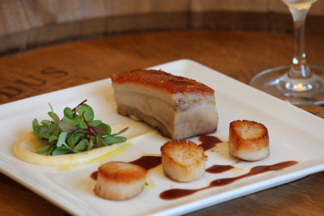Pork Belly at Customs House
