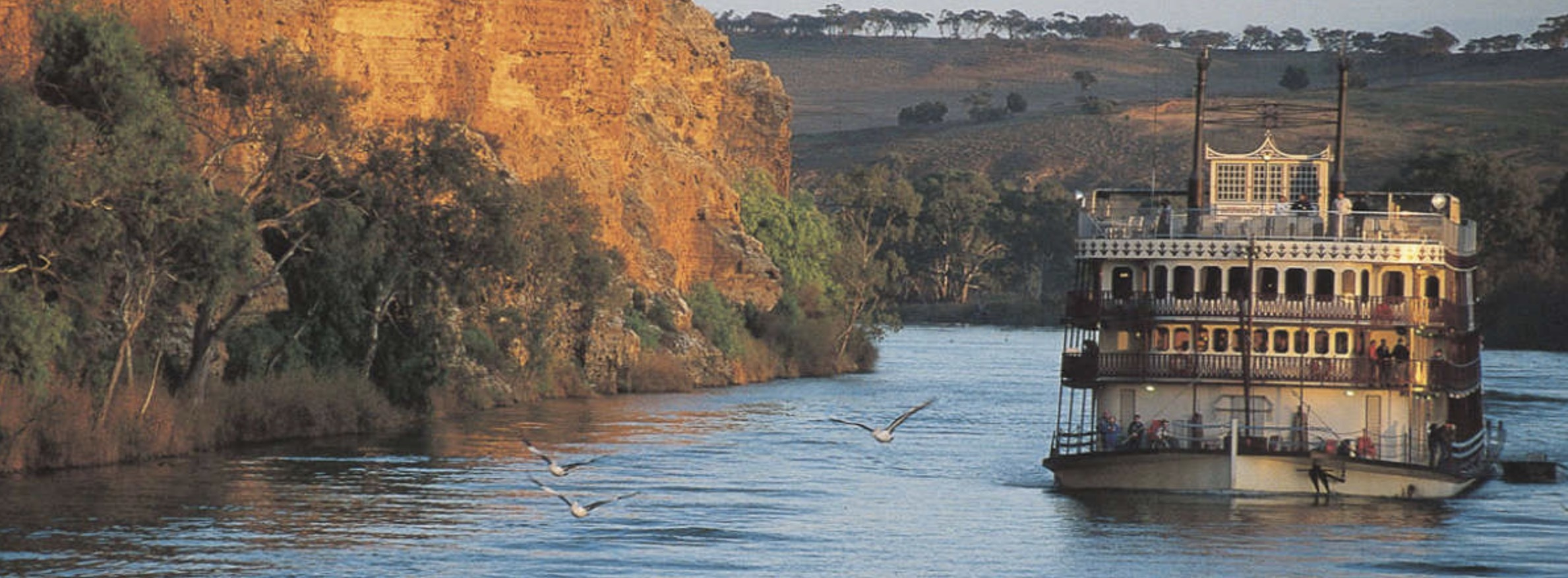 3 night murray river cruise captain cook cruises - HD 2378×878