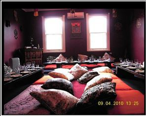 Nepalese, restaurant, BYO, food, cushion room