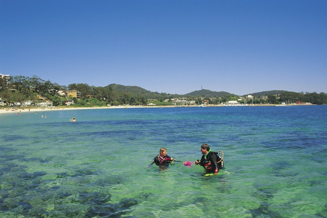 NSW Best Beaches, Best beaches in NSW, Nelson Bay