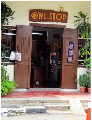Owl Shop, Penang attractions, georgetown heritage, Lebuh Cannon, Khoo Kongsi