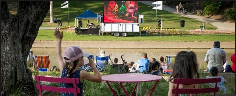 Free Outdoor Movies This Easter And April