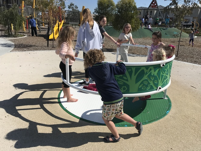 playgrounds in Brabham, wheelchair access playgrounds, livvi's place playground, special needs playgrounds, sensory playgrounds,