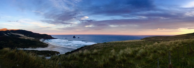 Sandfly Bay, Otago Peninsula, Dunedin, New Zealand, Beach, Hike
