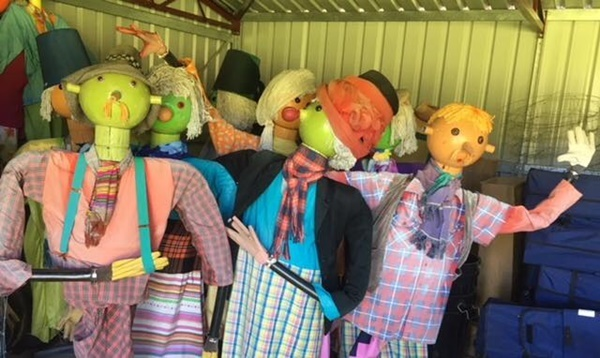 scarecrows,at,Balingup,Field,Day