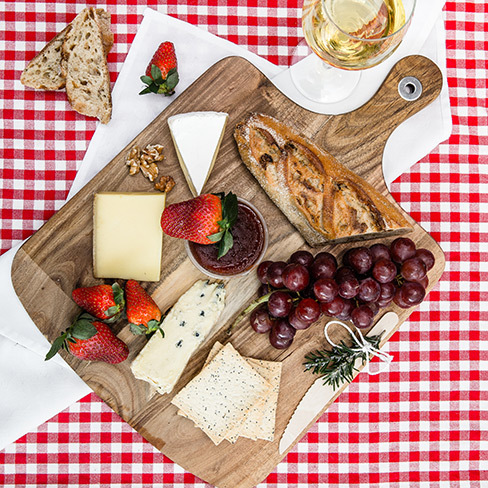 So Frenchy cheese plate