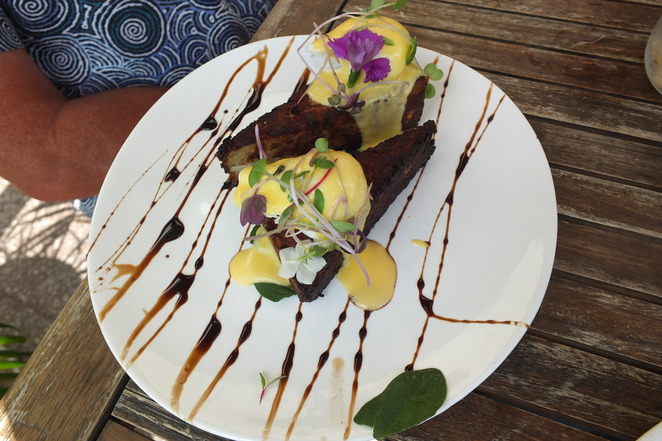 The Shak Organic Cafe and Wine Bar, Burnett Street, Buderim, organic, breakfast, lunch, dinner, all-day Menu, indoor/outdoor seating, beautifully presented, creative, flair, efficient, slightly dearer
