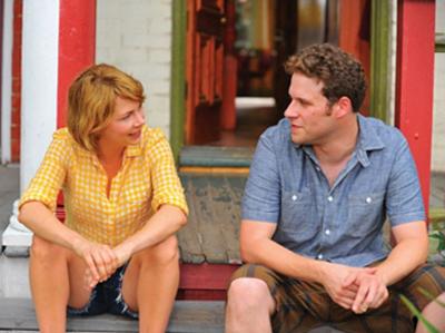 Michell Williams and Seth Rogen in Take This Waltz