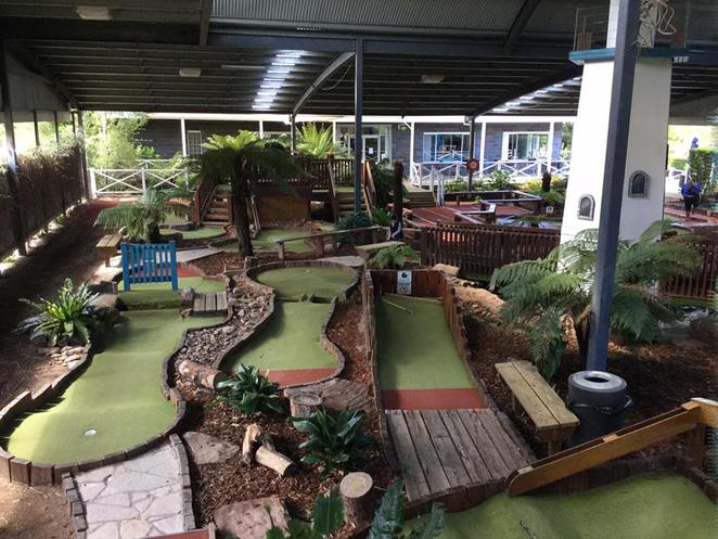 Wetlands mini golf, mini golf in wheelers hill, mini golf, adventrue golf, golf