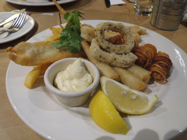Whitehorse Inn Bistro, Classic Seafood Selection, Adelaide
