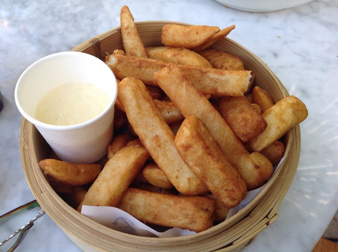 A serving of The Boat House chips
