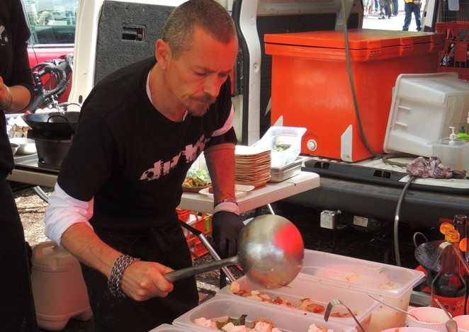 adelaide, food trucks, fork on the road, south parklands, hutt street centre, touch football, touchwine, food, wines, simon bryant