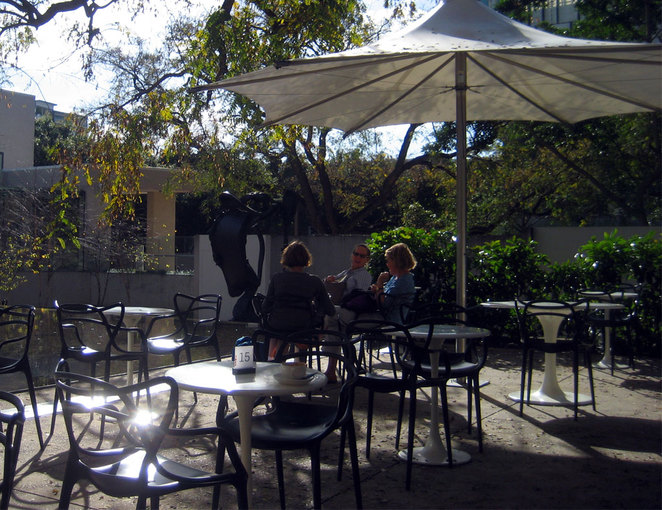 The Cafe in the Queensland Art Gallery