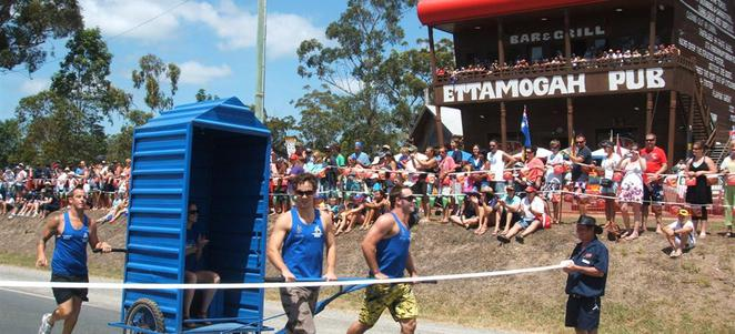 australia day, aussie world, ettamogah pub, dunny race, fun, australian, aussie, family fun