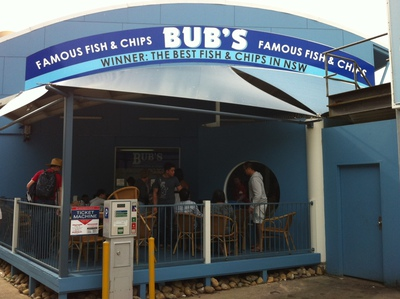 Bub's Fish and Chips at Nelson Bay