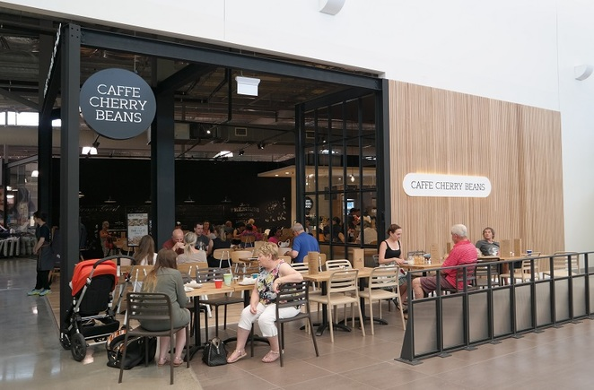 caffe cherry beans, fyshwick, canberra outlet centre, ACT, coffee, lunch, breakfast, monkey mania,