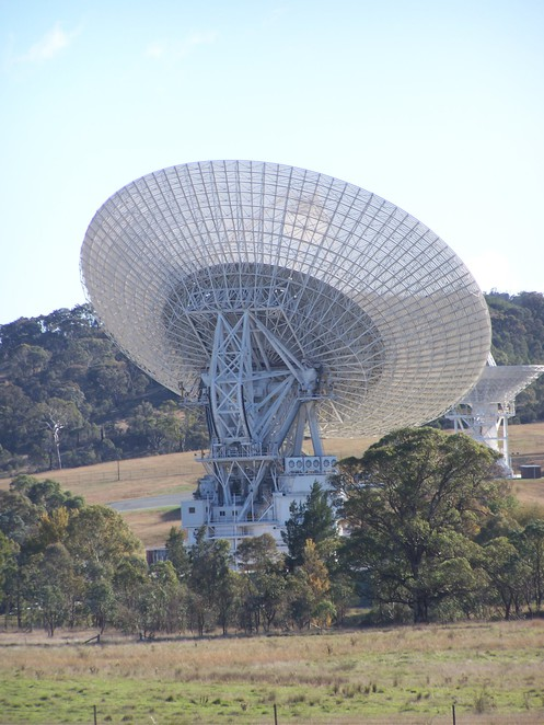 Canberra Deep Space Communications Complex dish