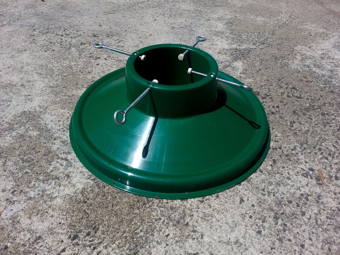 Christmas tree base, Christmas tree stand, stand to hold christmas tree, plastic christmas tree base