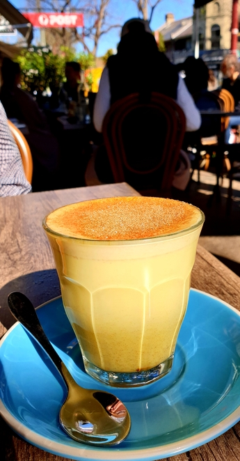 Coffee, turmeric, latte, cafe, Sydney, breakfast, lunch, family