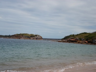 congwong beach bare island