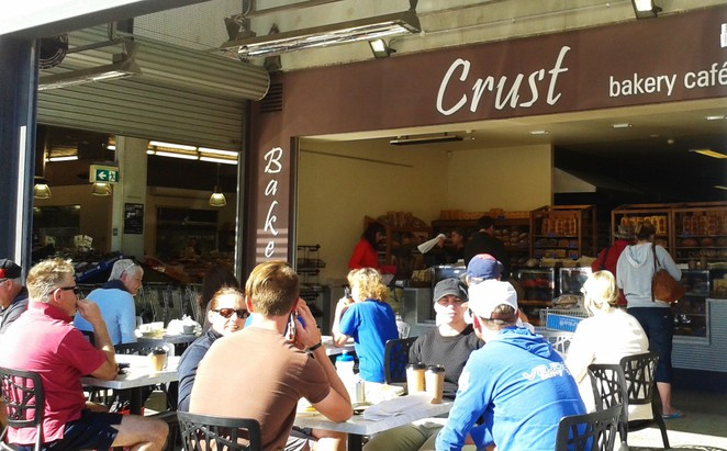 Crust, Fyshwick Fresh Food Markets