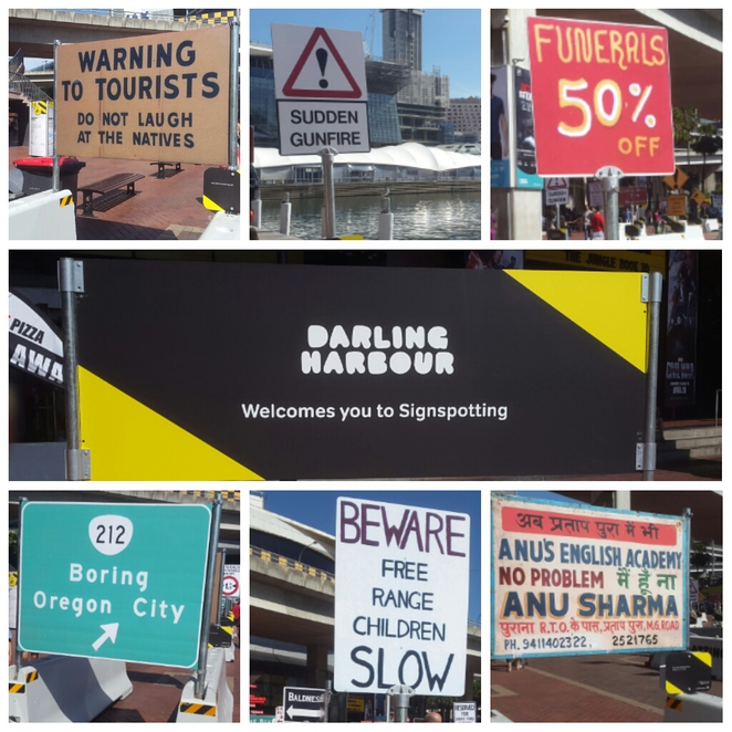 Darling Harbour Sign City