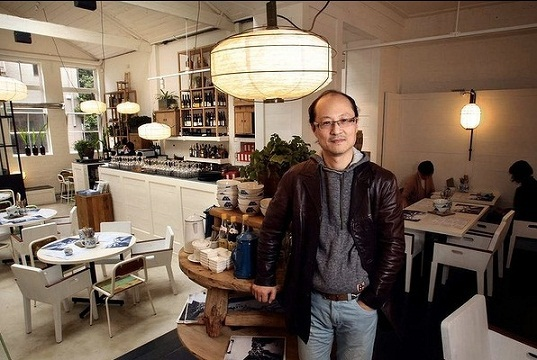David Zhou of David's and Oriental Teahouse