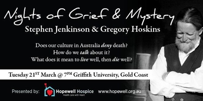 death,dying,grief,hopewell,Stephen Jenkinson,griffith uni,