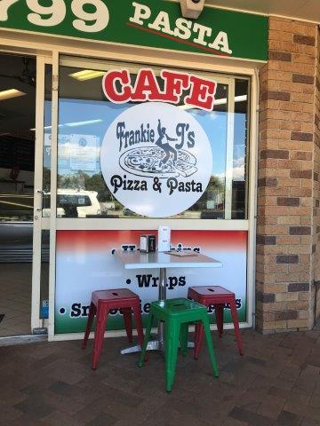 Frankie J's Pizza and Pasta, pizza, pasta, gelato, Glasshouse Mountains, coffee