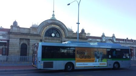 Fremantle Railway Station, public transport, Transperth