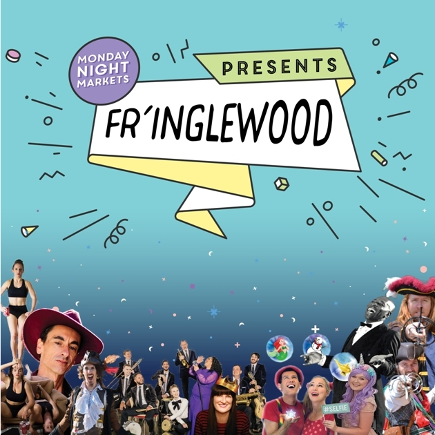 Fringe World, Inglewood Monday Night Markets, street food, entertainment, concerts, reptile handling, kids' shows, Prince, music, dance, song