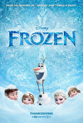 Frozen, Disney animation, weather movies, eternal winter