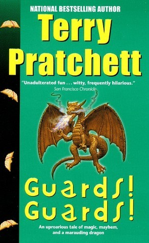 Guards, Guards!, Terry Pratchett, Discword, books about dragons