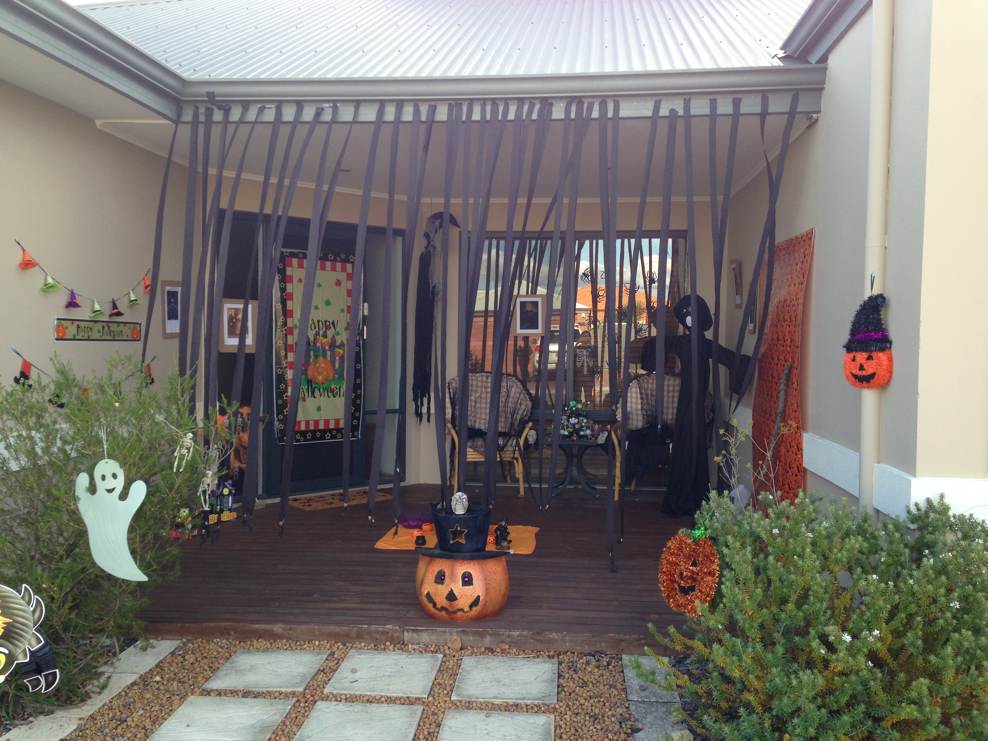 halloween decorations with a twist - everywhere