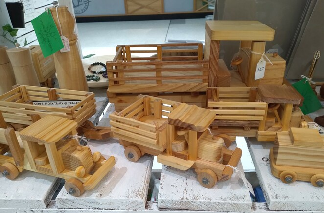 Handmade Expo, vintage, markets, popup, wooden toys