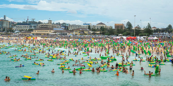 The Havaianas Thong Challenge on Australia Day