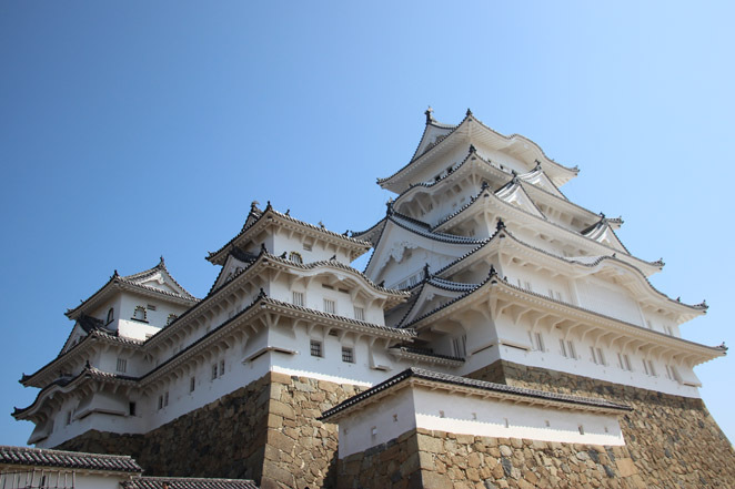 Himeji, Castle, Japan, Restoration, White Heron, UNESCO, World Heritage, Holiday