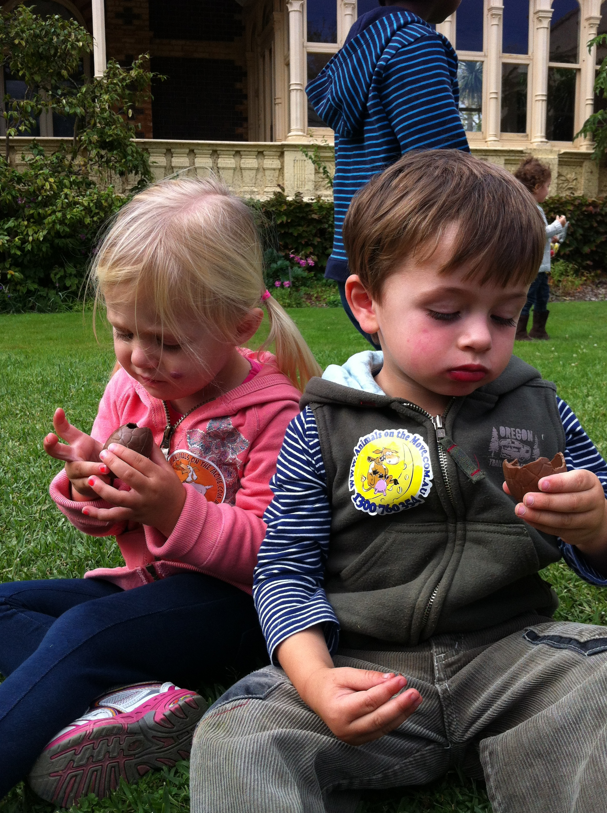 Easter fun day at rippon lea melbourne after all that hard work youll want to sit down and enjoy your spoils negle Images