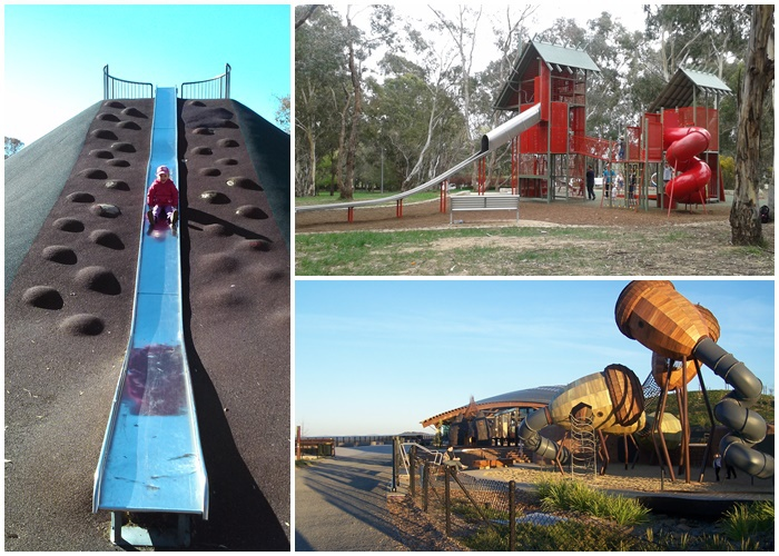 top 3 playgrounds with the best slides in canberra canberra