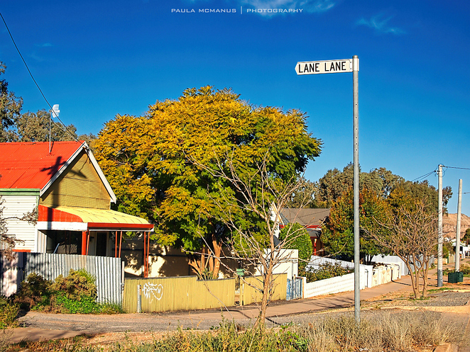 Lane Lane, Broken Hill