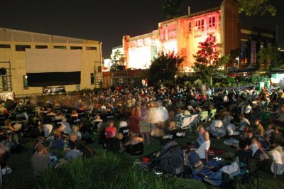 Moonlight Cinema, New Farm Park