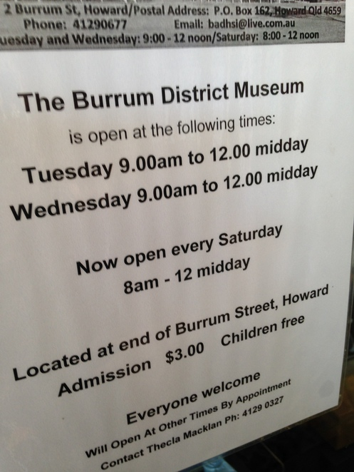 Museum, Heritage, Things to see, Howard, Maryborough
